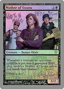 MTG 1x MOTHER OF GOONS Unhinged *FOIL NM*