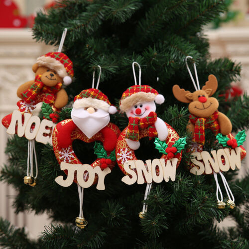 Christmas Tree Ornaments Decorations Hanging Home Party Decor Holiday Xmas Gift