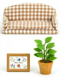 Sylvanian Families Doll Accessory Furniture Living Room ...