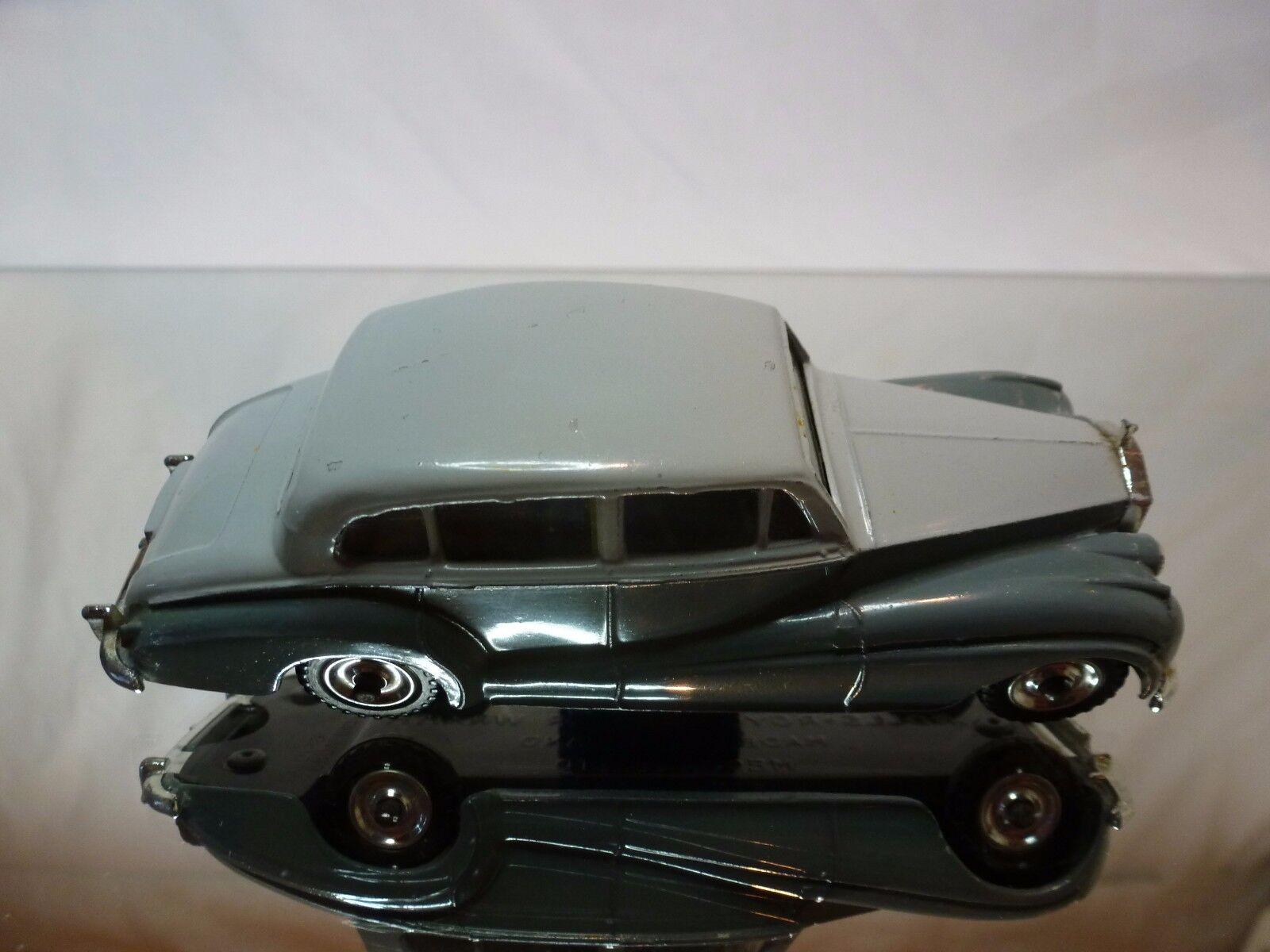 DINKY TOYS 150 150 150 ROLLS ROYCE plata WRAITH - gris 1 43 - GOOD CONDITION a4d96d