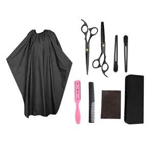 8-pezzi-Forbici-forbici-taglio-capelli-forbici-per-sfoltire-per-parrucchieri-e