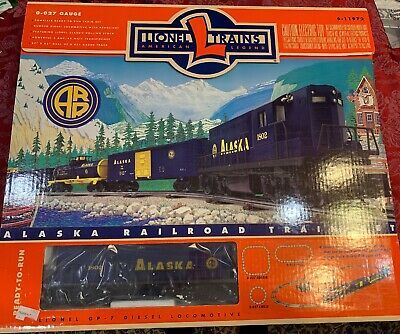 *new - Sealed* Lionel 6-11972 Alaska Rr Ready-to-run Diesel Freight Train Set