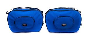 Pannier-Liner-Luggage-Bags-for-KAWASAKI-1400GTR-Motorcycle-Perfect-Fit-Pair-Blue