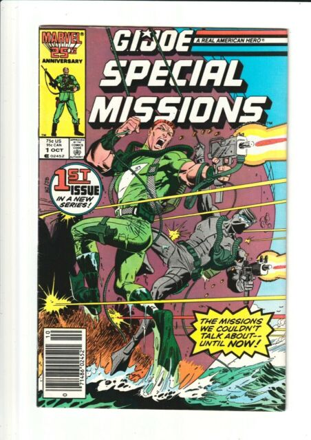 G.I.Joe Special Missions #1 (Marvel, 1986) RARE Newsstand Edition!