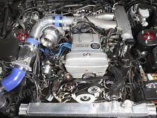 CXRacing T70 Turbo Kit For Lexus SC300 2JZGE 2JZ-GE Manifold Intercooler Blue