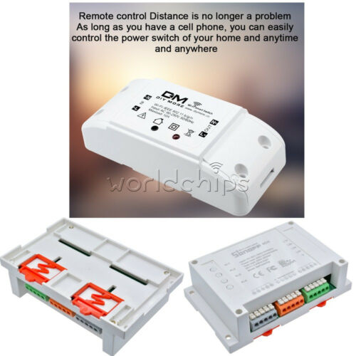 DM DIY WIFI Wireless Remote Control Switch for Android//IOS Sonoff without 433Mhz
