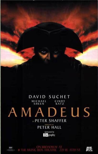 Amadeus Movie Poster 24x36