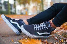 Vans SK8 Hi Reissue CA Overwashed Plaid Men's Classic Skate Shoes Size 9.5