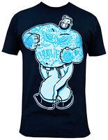 Men's Thug Life Adi Black Tee Tattooed Bruto Brutus Popeye Lowbrow Art Shirt