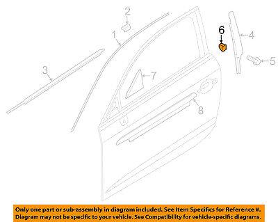 AUDI OEM 09-17 Q5-Roof Molding Clip 8K0853585C