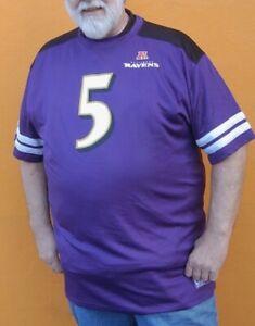 Details about Baltimore Ravens Joe Flacco Big & Tall Jersey Shirt