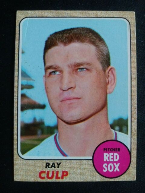 1968 Topps Baseball Card # 272 Ray Culp - Boston Red Sox