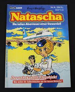 Natascha / Die tollen Abenteuer einer Stewardeß / Nr. 6 / Comic /