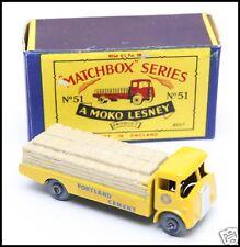 Matchbox Moko Lesney #51a (#1) Albion Chieftan in Original Cardboard Box 1958