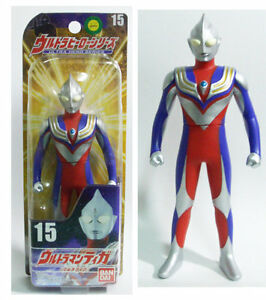 Bandai-Ultra-Hero-Series-15-VINYL-ULTRAMAN-TIGA-MARUCHI-6-034-Action-Figure-MISB