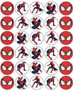 picture about Free Printable Cupcake Wrappers and Toppers With Spiderman titled Data more than Spiderman Cupcake Toppers Edible Wafer Paper Birthdays Get 2 Attain 3RD No cost!