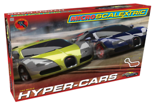 Scalextric G1108 Micro Scalextric Hyper-Cars 1 64 Scale