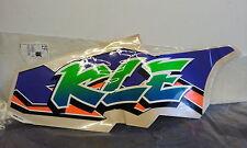 KAWASAKI KLE500 LOWER R/H FARING DECAL/STICKER