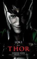 Thor Movie Poster - Tom Hiddleston Poster - 11 X 17 Inches (loki)