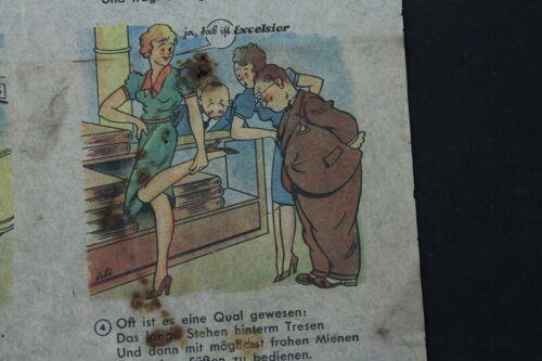 alter Druck Werbung Excelsior Absätze old vintage