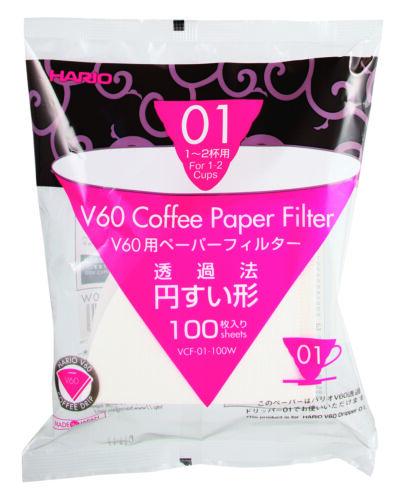 Hario100 Papier-FilterV60 Dripper1-2 Tassen