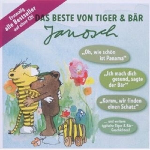 DAS BESTE VON TIGER & BÄR  CD NEU