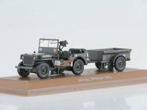 Scale-model-car-1-43-Jeep-Willys-101st-Airborne-Division-Normandie