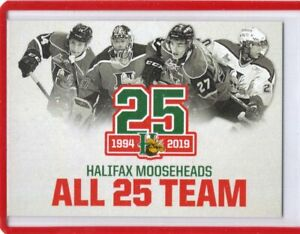2018-19-HALIFAX-MOOSEHEADS-All-25-Team-QMJHL-Team-Set-Single-Cards-U-Pick