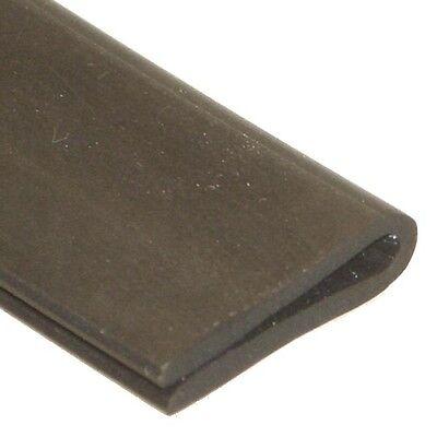 11.5 x 6mm Rubber U Channel Edging Edge Trim For 3mm Panels Per Metre IVA