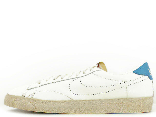 NIKE Tennis Classic Vintage Neu Leather Leder Sail-Blue Gr:37,5 Retro Sneaker