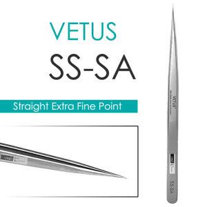 VETUS-SS-SA-Straight-Ultra-Precise-Extra-Fine-Point-Tweezers-Eyelash-Extension
