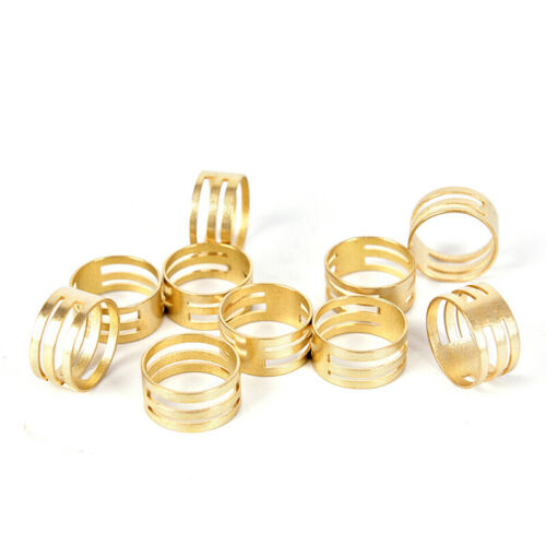 10Pcs//Set Brass Jump Ring Open Close Tool For Jewelry Making Finger Helper laje