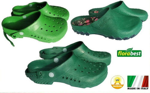 PVC-Gartenclog oliv-grün Gartenschuhe Schuhe Garten