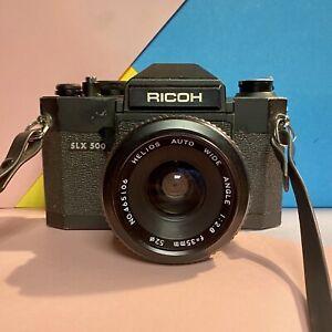 Ricoh-SLX-500-35mm-SLR-Film-Camera-Helios-Auto-Weitwinkel-f2-8-35mm-Objektiv-LOMO