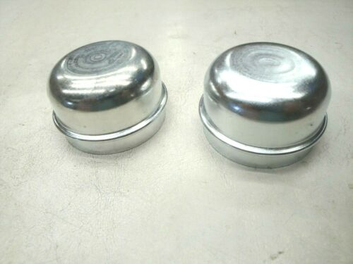 59 60 1959 1960 FORD EDSEL FRONT HUB DRUM GREASE CAP X2 NEW