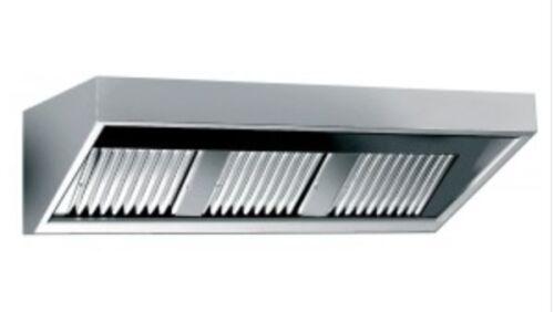 Wandhaube Dunstabzugshaube 800x700 B//T mm EDELSTAHL inkl Beleuchtung