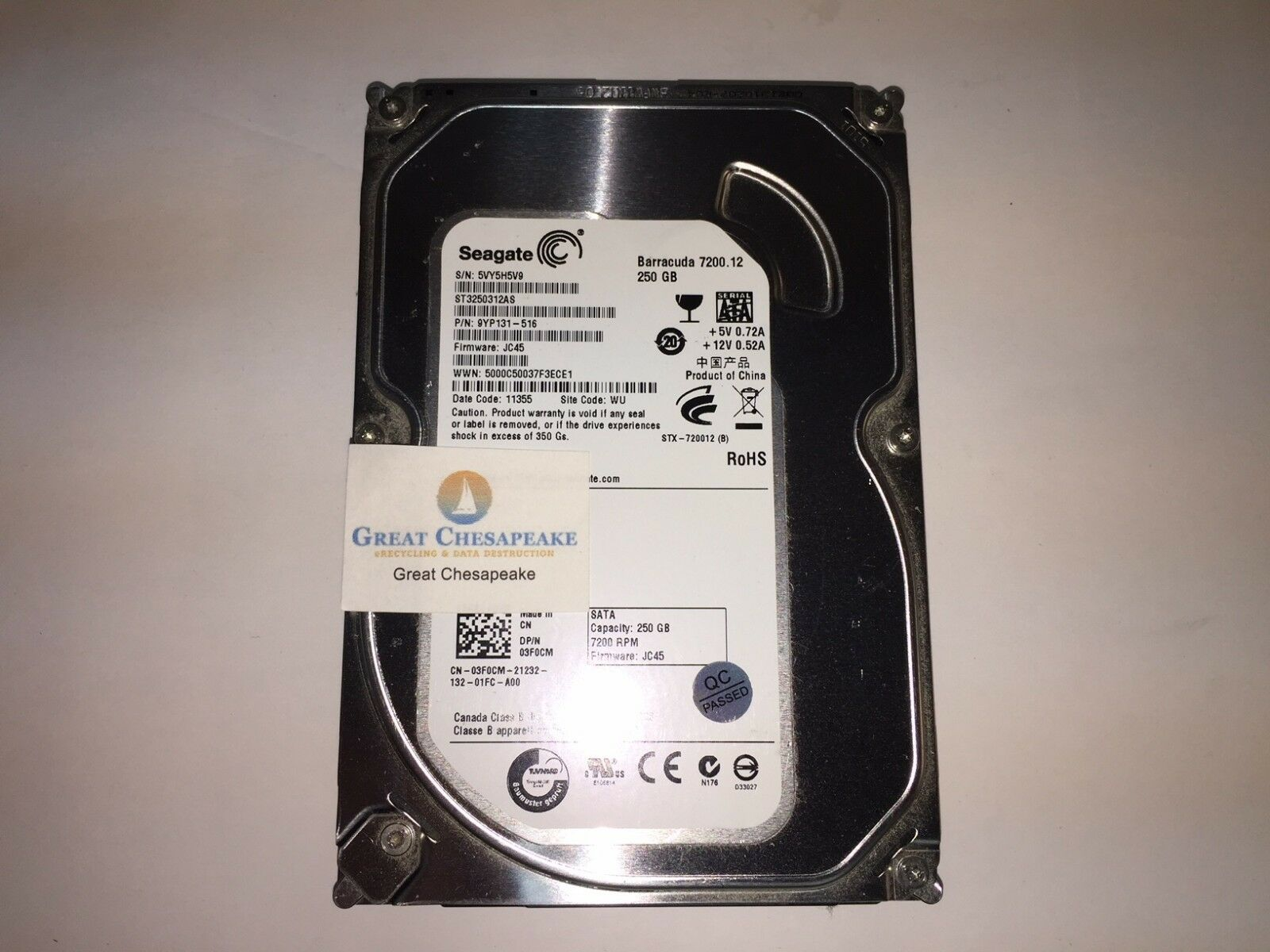 Seagate Barracuda 720012 250gbinternal7200rpm35 St3250312as Firecuda 35 Inch 2tb Sshd 5 Years Warranty Hddssd For Pc Gaming Hdd Ebay