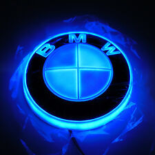 4D Car LED Logo Light Auto Badge Rear Emblems Lamp For BMW 3 5 7Series X3X5X6 GT
