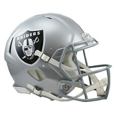 OAKLAND RAIDERS RIDDELL NFL FULL SIZE AUTHENTIC SPEED FOOTBALL HELMET