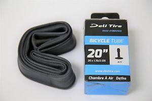 "Schrader Valve 35 mm 2.125/"" Deli Bicycle Inner Tube 18/"" x 1.75/"""