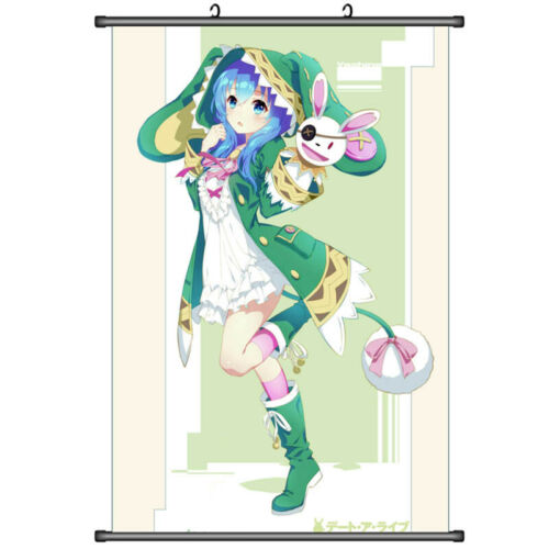 Anime DATE A LIVE Yoshino Hermit Home Decor Wall Scroll Poster 50X70cm DD297