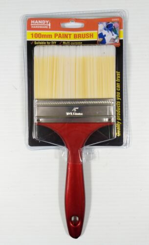 BULK 100mm General Purpose Large Paint Brushes DIY Polyester