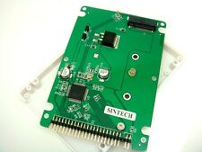 SINTECH M.2 NGFF B+M Key SATA SSD to 44pin 2.5 IDE adapter card with case