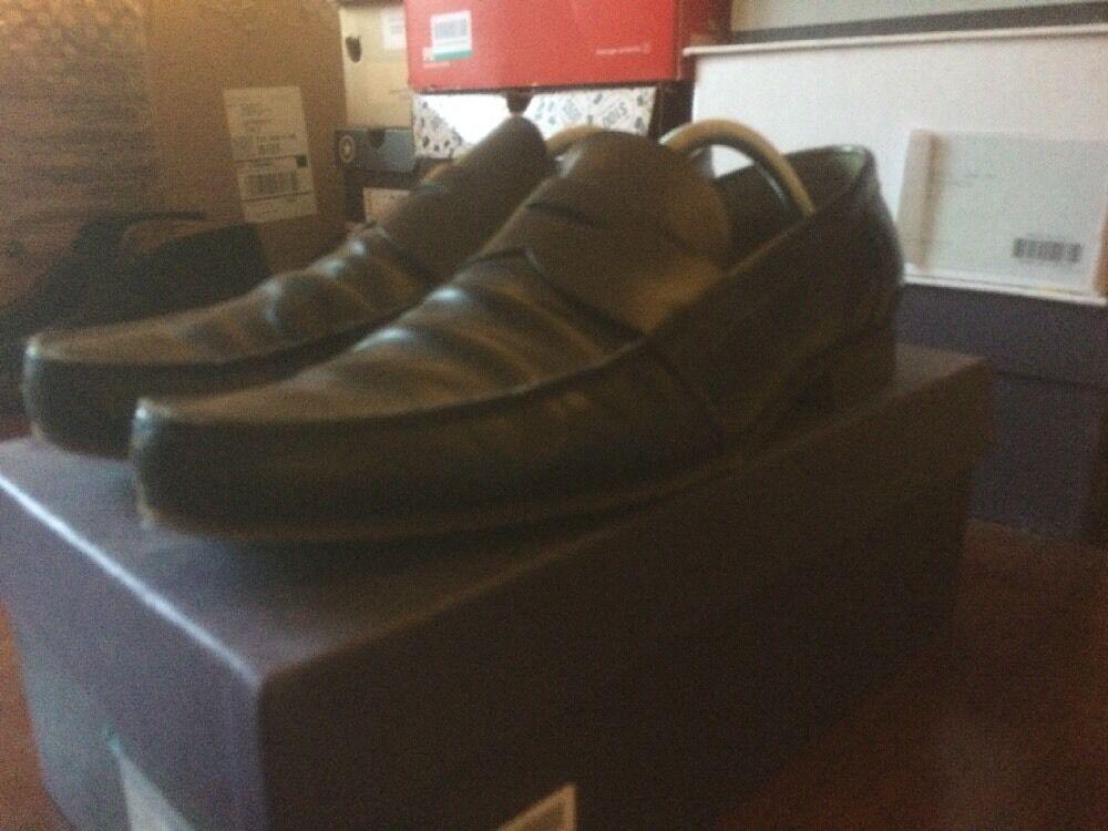 PRADA Leather Blue Loafer 43 43 Loafer 008e42
