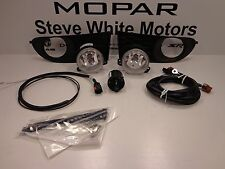 11-15 Dodge Journey New Fog Lamps Lights Light Kit w/o Auto Headlamps Mopar Oem