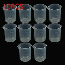 Small 100ml Measuring Cup Plastic Jug Beaker For Kitchens Laboratories Tools New