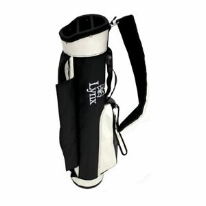 Lynx-Golf-Retro-Carry-Bag-White-amp-Black