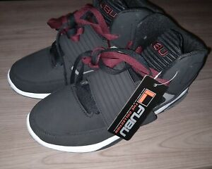 FUBU Men/'s Gray Lace-up High Top Athletic Sneakers Shoes 8-13