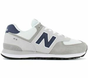 New-Balance-classic-574-ML574EAG-Men-039-s-Sneaker-Casual-Shoes-White-Grey-ML574