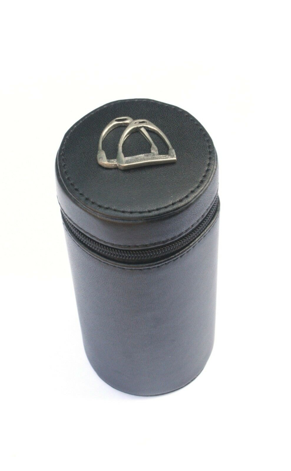 Horse Stirrup Shooting Peg Position Finder Numberojo Cups 1-10 negro Leather Case